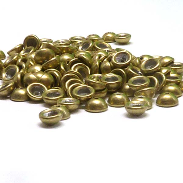 "Teacup Bead ""06B09"" Saturated Metallic Limelight 4*2,5 mm 5 gr"