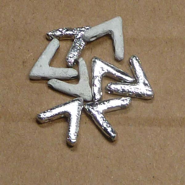 "AVA® bead ""00030-27080E"" Crystal Etched Labrador Full, 10*4 mm,"