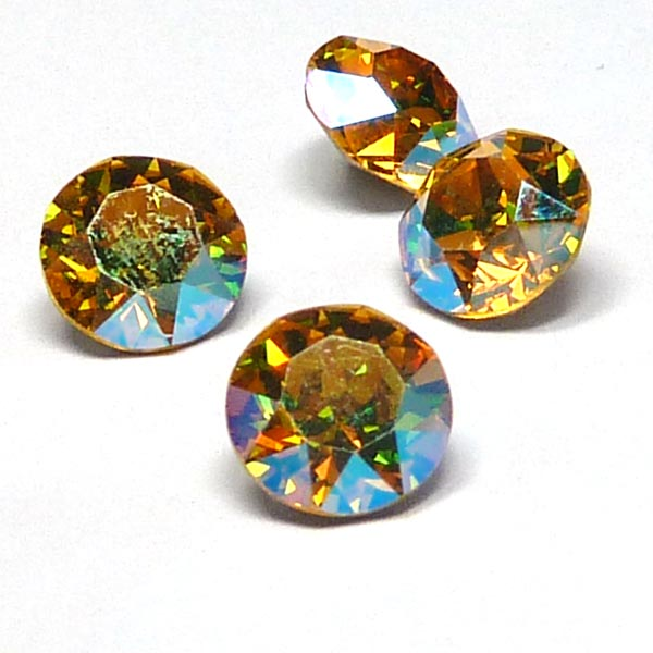 1088 Xirius Chaton SS39 Light Topaz Shimmer ca 8 mm