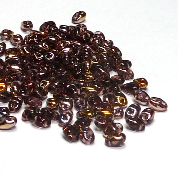 "Miniduo® ""C20060"" Copper Amethyst 4*2 mm 10 gr"
