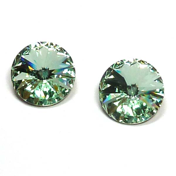 1122 Swarovski rivoli Chrysolite 14 mm 1 st