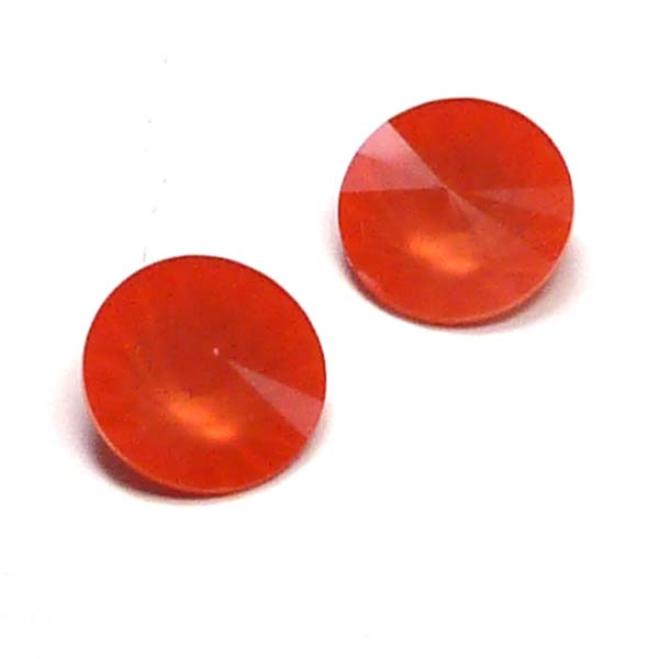 1122 Swarovski rivoli Crystal Light Coral 12 mm 1 st