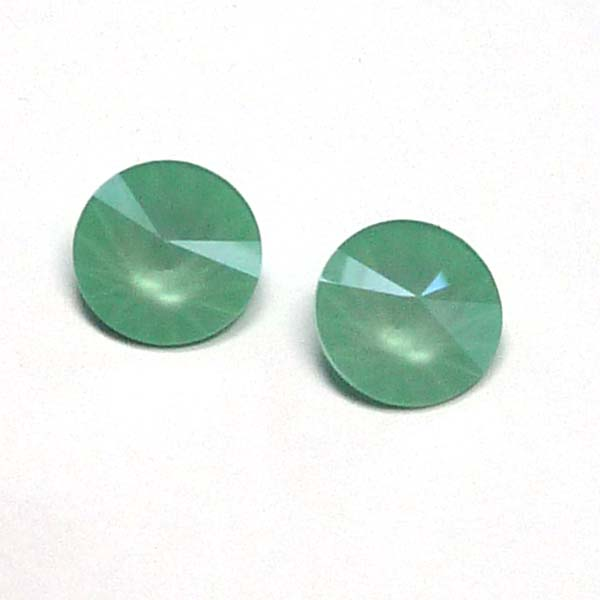1122 Swarovski rivoli Crystal Mint Green 12 mm, 1 st