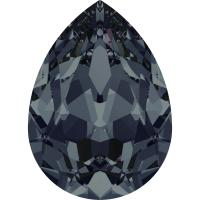 "4320 Swarovski Pear Fancy Stone ""Graphite"" 18*13 mm 1 st"