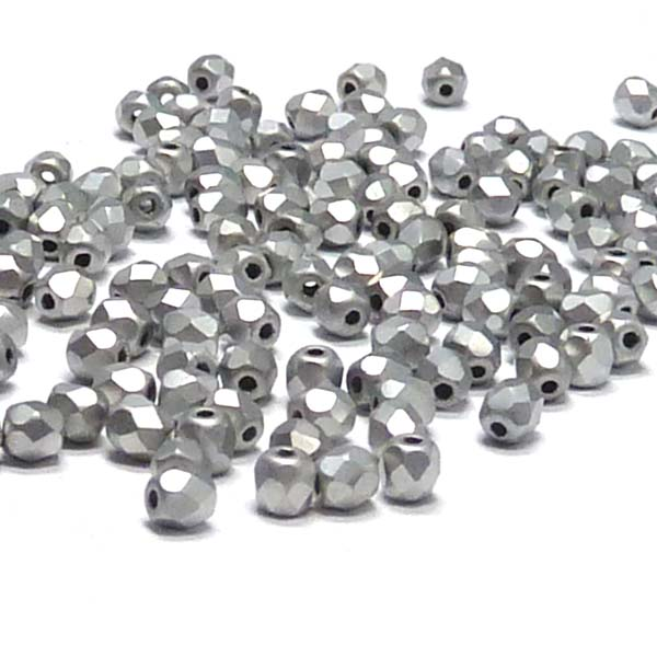 "Crystal labrador Full Matted ""00030-27070"" firepolish 3 mm, 100"