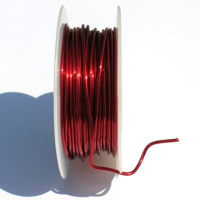 "Artistic wire ""Red 14"", 12 gauge 2,0 mm"