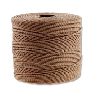 S-lon fine bead cord - tex 135, Light copper