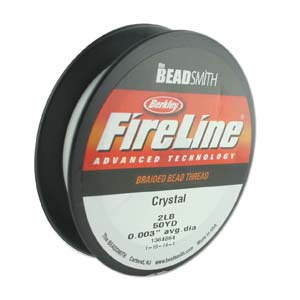 "Fireline 2 lb crystal, .003"" - .07 mm, 1 rulle"