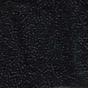 "Delica 11/0 ""DB310"" Black Matted 50 gr"