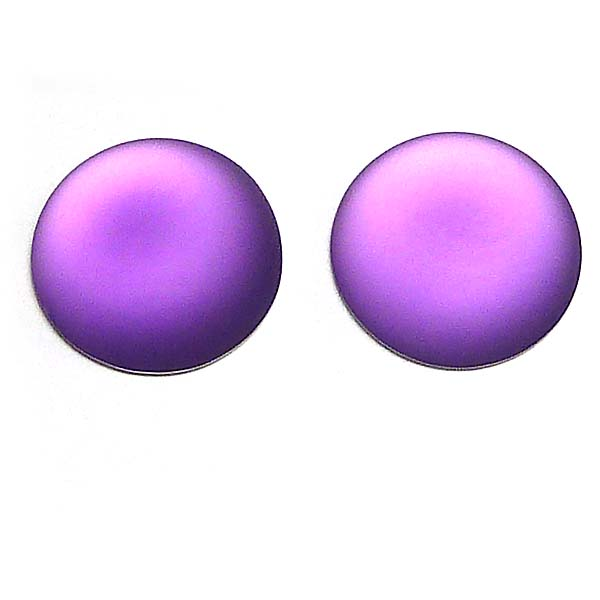 Lunasoft rund cabochon, grape, 24 mm