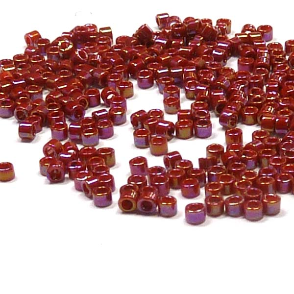 "Delica 11/0 ""DB2275"" Opaque Glazed Dark Red  5 gr"