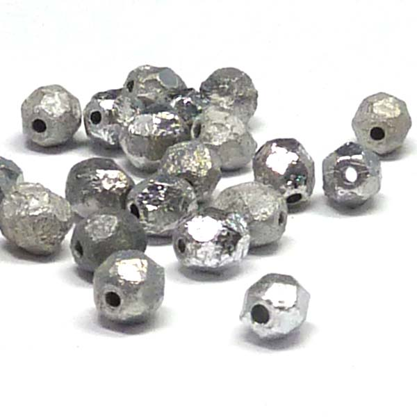 "Crystal Etched Labrador Full ""00030-27080"" firepolish 6 mm 50 st"