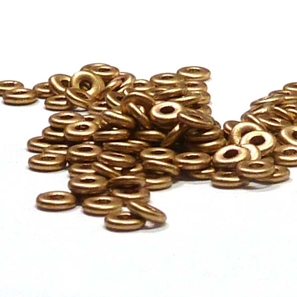 "O-bead ®, Aztec Gold ""01710"" 4*2 mm 5 gr"