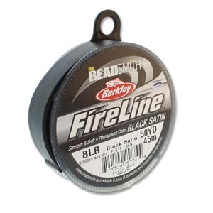 "Fireline 8 Lb Black Satin 007"" - .017 mm 50 yard"