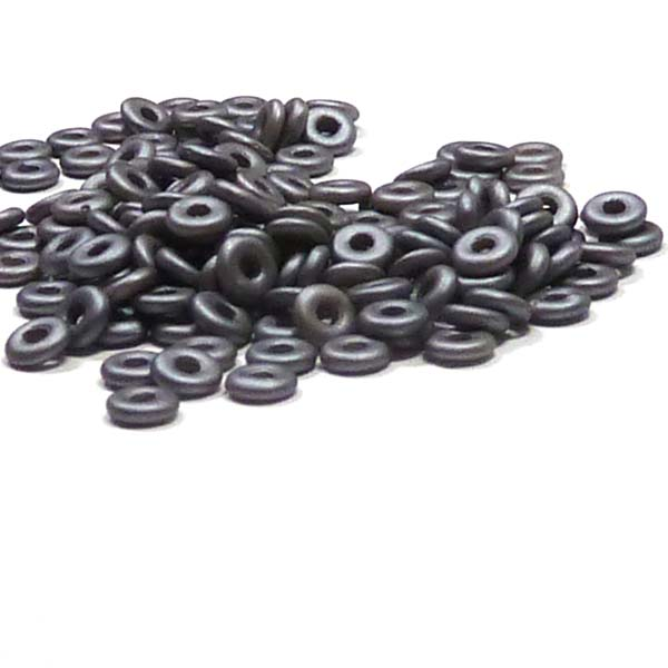 "O-bead ®, Metallic Steel ""29403"" 4*2 mm 5 gr"