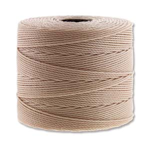 S-lon fine bead cord - tex 135, Natural