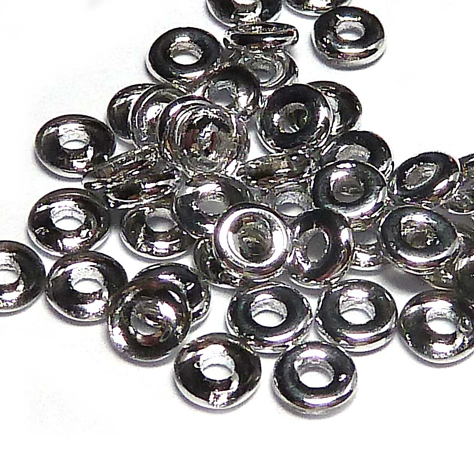 "O-bead ®, Crystal Labrador ""00030-27001"", ca 4*2 mm, 5 gr"