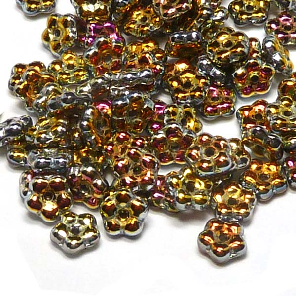 "Forget-me-not bead ""00030-28003"" Crystal Full Marea, 5 mm, 50 st"