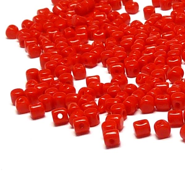 "Minos® par Puca® - Opaque Coral Red ""93200"" 5 gr 110st"