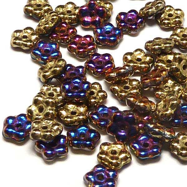 "Forget-me-not bead ""00030-98545"" Crystal California Violet, 5 mm"