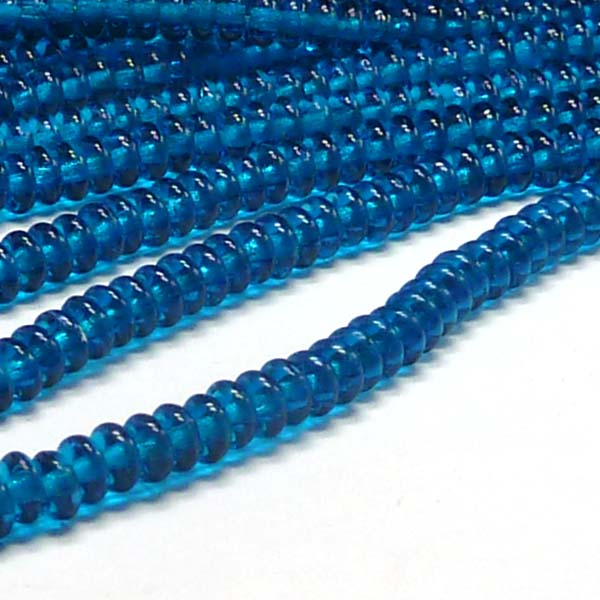"Rondell 4 mm - Capri Blue ""60080"" 100 st"