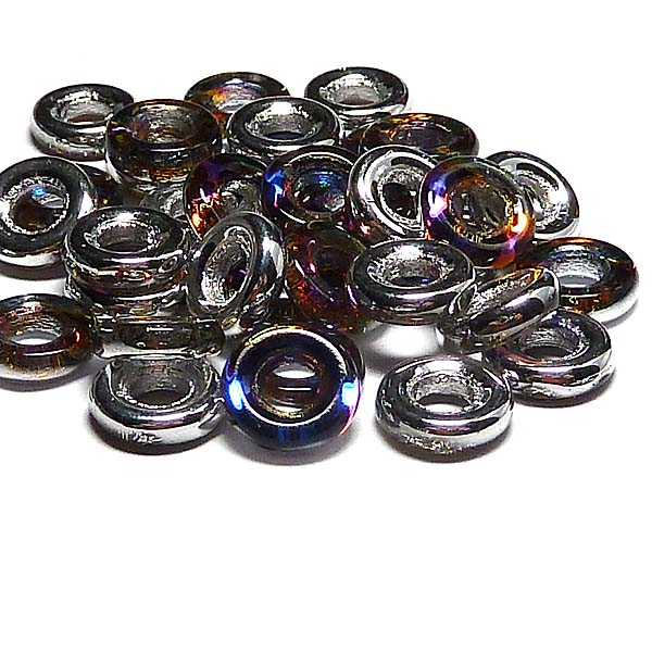 Glassrings Crystal volcano 00030-29942, 9 mm, 25 st