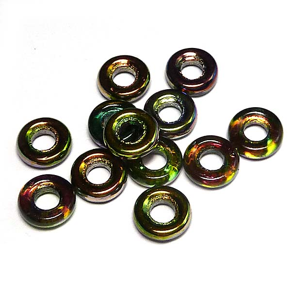 Glassrings Crystal magic orchid 00030-95000, 9 mm, 25 st