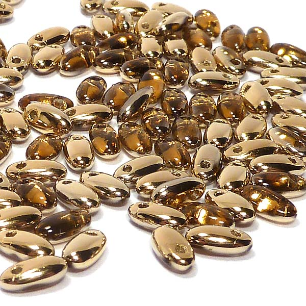 "Rizo® Beads - ""10060-26441"" Topaz amber 6*2,5 mm, 10 gr"