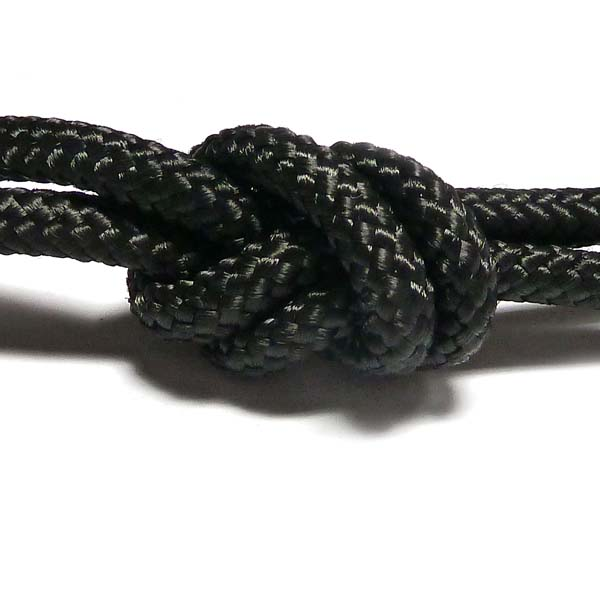 Climbingcord mini,  svart 5 mm, 1 meter