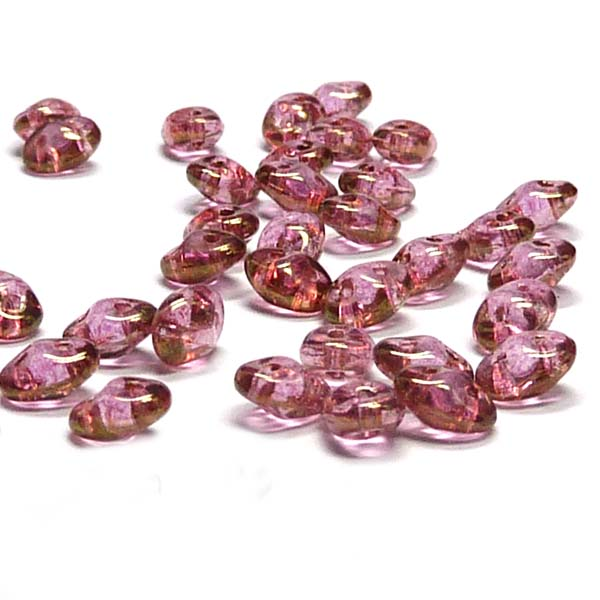 "Superduo - ""00030-14495"" Crystal Red Luster, 10 gr"
