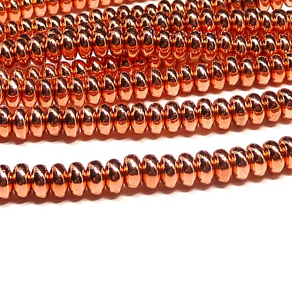 "Rondell 4 mm - Copper Penny ""275"" 100 st"
