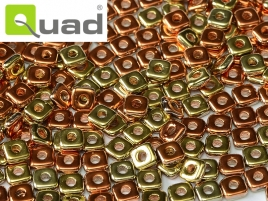 "Quad® Bead Jet California Gold Rush ""23980-98542"" 4 mm, 5 gr"