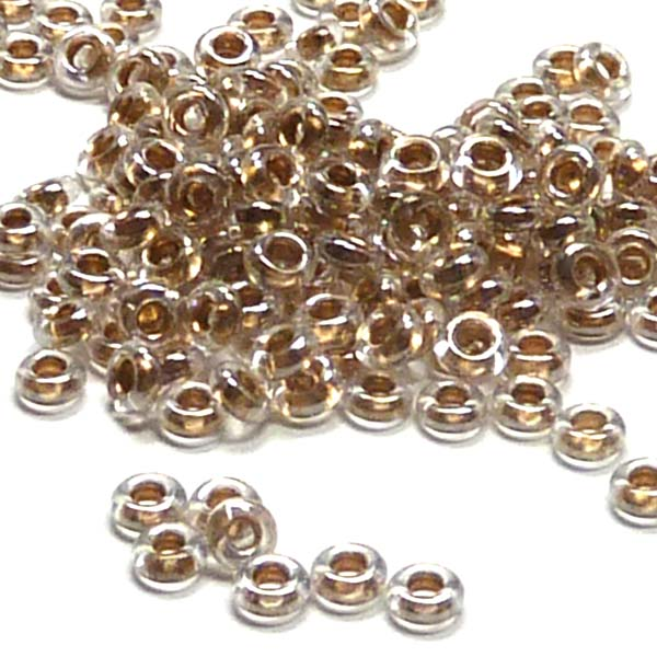 "ToHo demi round 8/0 ""989"" Gold-Lined Crystal, 5 gr"