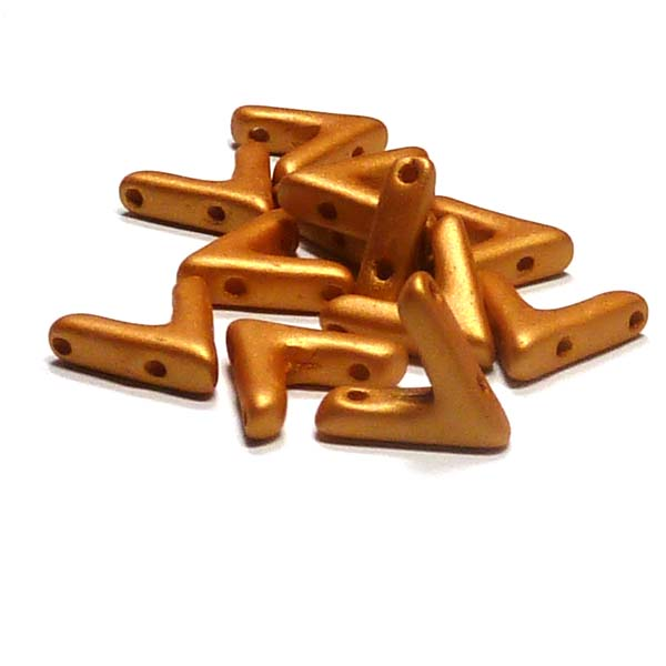 "AVA® bead ""29421"" Metallic Gold, 10*4 mm, 5 st"