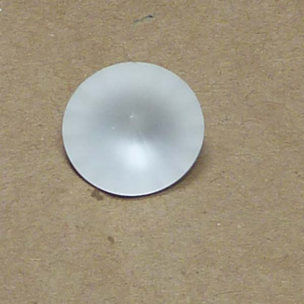 1122 Swarovski Rivoli Crystal Matted 14 mm 1 st