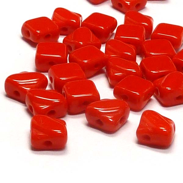 "Silky Bead Opaque Red ""93190"" mm, 40 s"