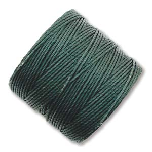 Evergreen Bead/Mac cord superlon, S-lon, makramé