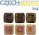 CzechMates® Tile Beads 6 mm