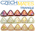 CzechMates® Triangle Beads 6 mm
