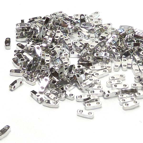 "Quarter Tila Bead ""QTL4575"" Crystal Labrador Full 5*1,2*1,9 mm"