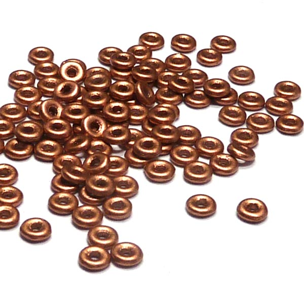 "O-bead ®, Vintage Copper ""01770""  4*1 mm 5 gr"