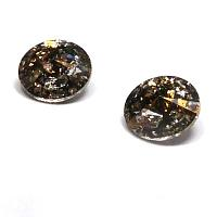 "1122 Swarovski Xirius Chaton SS39 ""Crystal Gold Patina"" ca 8 mm"