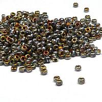 "Tjeckisk seedbead 11/0 ""00030-28083E"" Cry Etched Full Marea, 10"