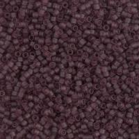 "Delica 11/0 ""DB1264"" Matted Transparant Mauve 5 gr"