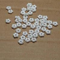 "Forget-me-not bead ""29300"" Alabaster White, 5 mm, 50 st"