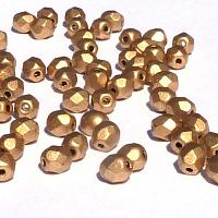 "Aztec Gold ""01710""  2 mm firepolish100 st"