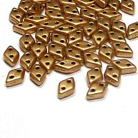 "CzechMates® Diamond ""01710"" Aztec Gold 6,5*4 mm 5gr"