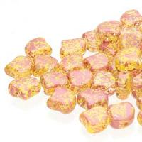 "GinkoDuo ""00030-24403"" Confetti Splash Red Yellow 7,5 mm 10 gr"