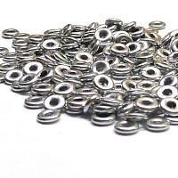 "O-bead ®, Bright Silver Aluminium ""01700"" 4*1 mm, 5 gr"