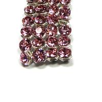 "40001 Swarovski Crystal Mesh ""Light Rose"" ca 2,7 mm 12 st"